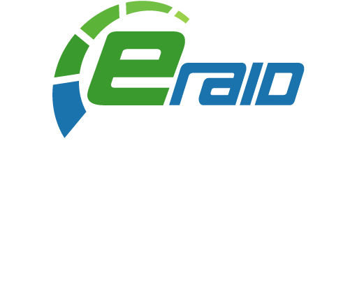 Eraid powered by Enel X logo
